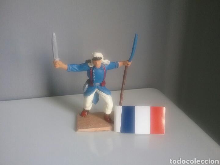 Figuras de Goma y PVC: Legión extranjera francesa, Pech/Oliver, figura en plástico, legionario soldado abanderado. - Foto 5 - 97107983