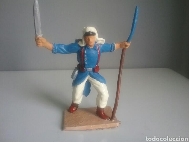 Figuras de Goma y PVC: Legión extranjera francesa, Pech/Oliver, figura en plástico, legionario soldado abanderado. - Foto 2 - 97107983