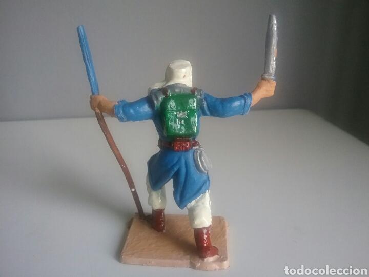 Figuras de Goma y PVC: Legión extranjera francesa, Pech/Oliver, figura en plástico, legionario soldado abanderado. - Foto 3 - 97107983