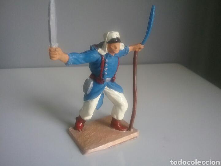Figuras de Goma y PVC: Legión extranjera francesa, Pech/Oliver, figura en plástico, legionario soldado abanderado. - Foto 4 - 97107983