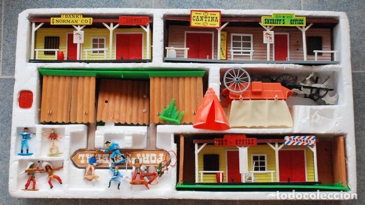 Figuras de Goma y PVC: COMANSI - TODO EL OESTE AMERICANO REF. 17171 CON CAJA ORIGINAL.AÑOS 80 - Foto 2 - 97404095