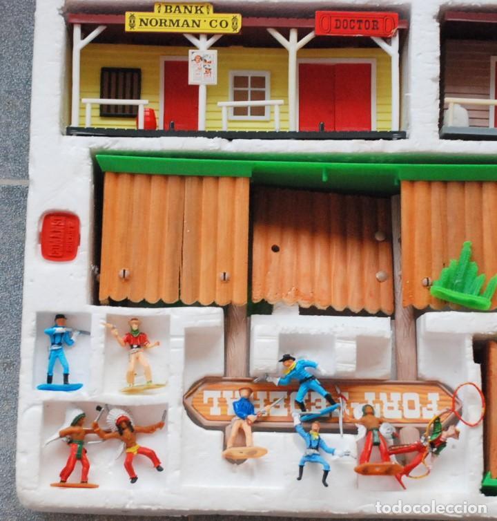 Figuras de Goma y PVC: COMANSI - TODO EL OESTE AMERICANO REF. 17171 CON CAJA ORIGINAL.AÑOS 80 - Foto 3 - 97404095