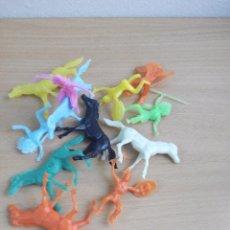 Figuras de Goma y PVC: LOTE Nº 4 INDIOS Y CABALLOS. Lote 97535463