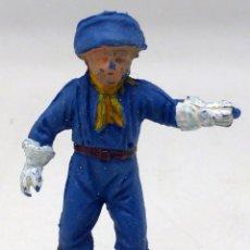 Figuras de Goma y PVC: CABO RUSTY PECH RIN TIN TIN PLÁSTICO AÑOS 60. Lote 161644446