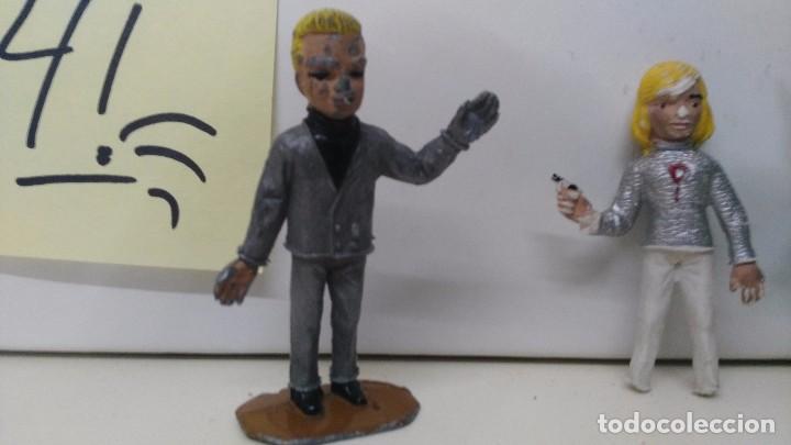 Figuras de Goma y PVC: antiguas figuras de comansi - Foto 2 - 97683879