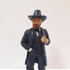 Figuras de Goma y PVC: GENERAL GRANT . HEROES OF THE WEST . REALIZADO POR COMANSI. Lote 194909636