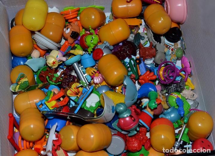 GRAN LOTE DE FIGURAS DE HUEVOS KINDER (Juguetes - Figuras de Gomas y Pvc - Kinder)