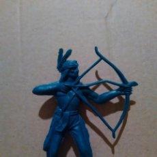 Figuras de Goma y PVC: INDIOS Y VAQUEROS COMANSI -INDIO A ESTRENAR AÑOS 70*. Lote 97815367