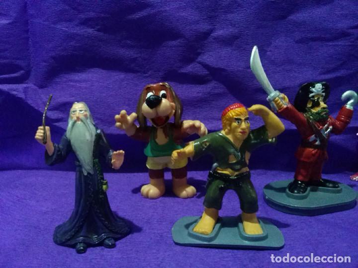 Figuras de Goma y PVC: Lote de ocho figuras de goma. - Foto 2 - 97818035