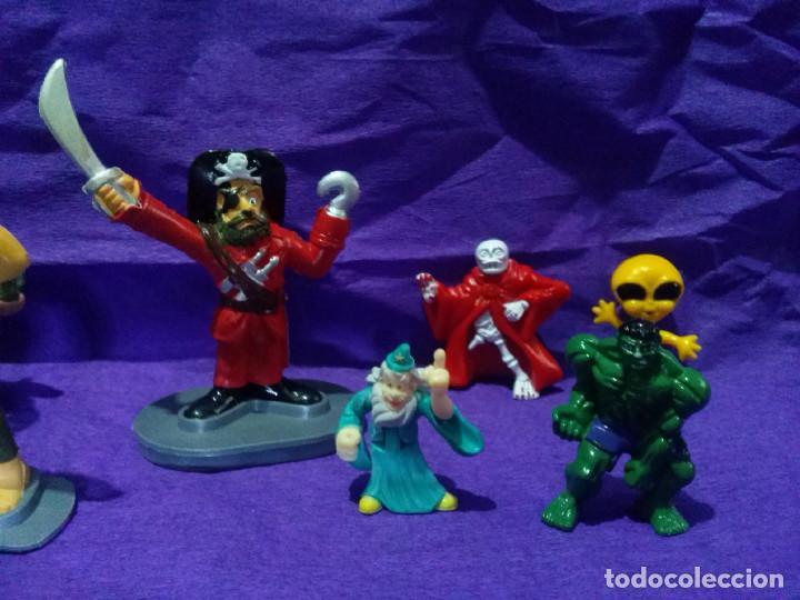 Figuras de Goma y PVC: Lote de ocho figuras de goma. - Foto 3 - 97818035