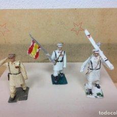 Figuras de Goma y PVC: FIGURA REAMSA DESFILE ESQUIADORES - DESFILE ESQUIADOR DE REAMSA. Lote 97818047