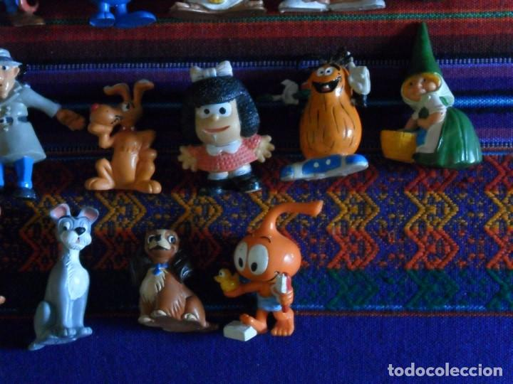 Figuras de Goma y PVC: 27 FIGURA PVC HEIDI PEDRO NIEBLA PITUFO INSPECTOR GADGET SNORKELS DAVID GNOMO WALT DISNEY POLÍTICOS - Foto 2 - 97915691