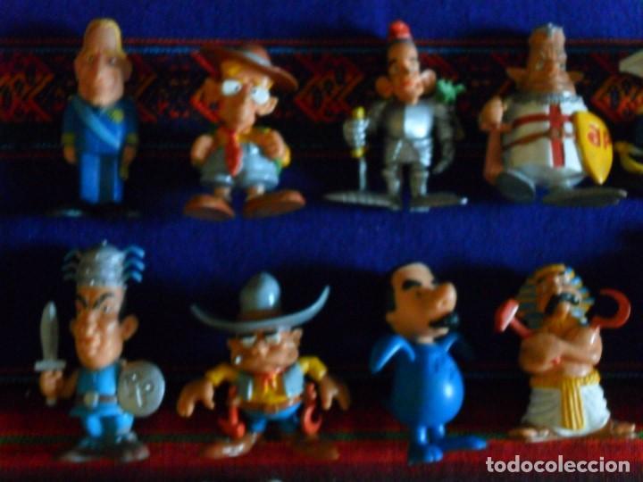 Figuras de Goma y PVC: 27 FIGURA PVC HEIDI PEDRO NIEBLA PITUFO INSPECTOR GADGET SNORKELS DAVID GNOMO WALT DISNEY POLÍTICOS - Foto 5 - 97915691