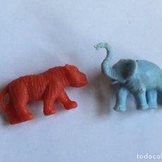 Figuras de Goma y PVC: RAL295 AÑOS 70/80 PLASTICO STARLUX PREMIUM TITO DUNKIN TIGRETON BIMBO ARIEL, ETC ANIMALES. Lote 97996903