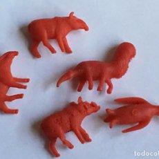 Figuras de Goma y PVC: RAL295 AÑOS 70/80 PLASTICO STARLUX PREMIUM TITO DUNKIN TIGRETON BIMBO ARIEL, ETC. Lote 97997439