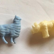 Figuras de Goma y PVC: RAL295 AÑOS 70/80 PLASTICO STARLUX PREMIUM TITO DUNKIN TIGRETON BIMBO ARIEL, ETC. Lote 98010607
