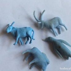 Figuras de Goma y PVC: RAL295 AÑOS 70/80 PLASTICO STARLUX PREMIUM TITO DUNKIN TIGRETON BIMBO ARIEL, ETC . Lote 98011027