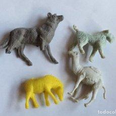 Figuras de Goma y PVC: RAL295 AÑOS 70/80 PLASTICO STARLUX PREMIUM TITO DUNKIN TIGRETON BIMBO ARIEL, ETC . Lote 98011055
