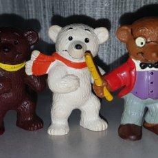 Figuras de Goma y PVC: OFERTA: PRECIO POR UNIDAD: 5 OSITOS FIGURAS PVC GOMA BULLY BULLYLAND. Lote 98013707