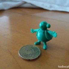 Figuras de Goma y PVC: FIGURA DUNKIN. GORDITO RELLENO. VERDE. DIFÍCIL. BUEN ESTADO. BRUGUERA. PEÑARROYA.. Lote 98014135