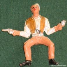 Figuras de Goma y PVC: FIGURA JINETE COMANSI GRAN CHAPARRAL. Lote 98026795