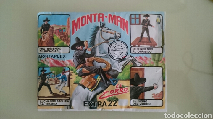 SOBRE MONTAPLEX, MONTAMAN (Juguetes - Figuras de Goma y Pvc - Montaplex)