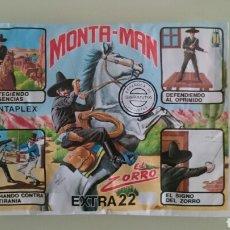 Figuras de Goma y PVC: SOBRE MONTAPLEX, MONTAMAN. Lote 98108911