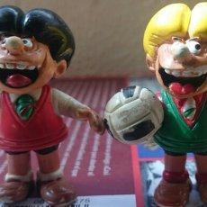 Figuras de Goma y PVC: ZIPI Y ZAPE,DOS MUÑECOS DE GOMA,AÑOS 80,ORIGINALES, BRUGUERA . Lote 112974740