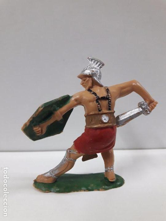 Figuras de Goma y PVC: GLADIADOR ROMANO . FIGURA REAMSA Nº 163 . AÑOS 60 - Foto 2 - 98150983