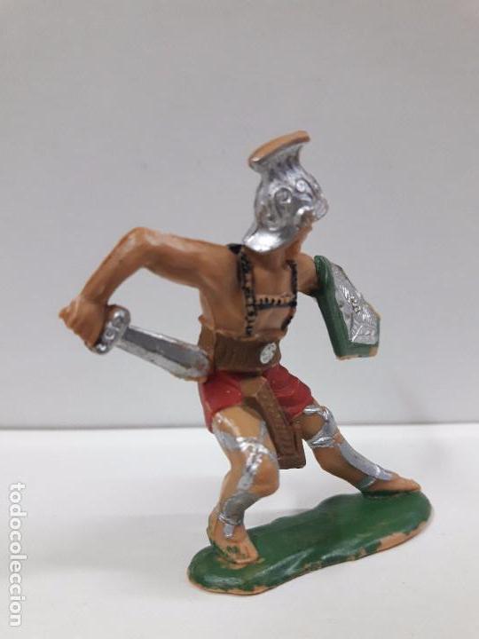 Figuras de Goma y PVC: GLADIADOR ROMANO . FIGURA REAMSA Nº 163 . AÑOS 60 - Foto 3 - 98150983