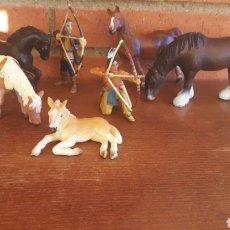 Figuras de Goma y PVC Schleich: LOTE FIGURAS SCHLEICH. Lote 98152706