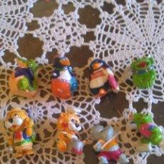Figuras Kinder: MUÑECOS SORPRESAS KINDER AÑOS 90. Lote 98176123