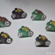 Figuras de Goma y PVC: LOTE DE 7 MOTORISTAS DE KIOSKO ANTIGUOS. Lote 98245587
