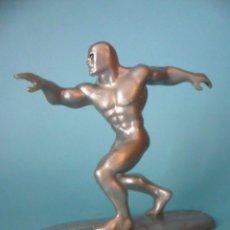 Figuras de Goma y PVC: SILVER SURFER ESTELA PLATEADA FIGURA DE PVC MARVEL YOLANDA 1996. Lote 98375571