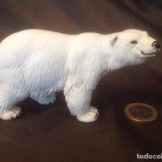Figuras de Goma y PVC: OSO POLAR ANIMALES SALVAJES SCHLEICH S AÑOS 90. Lote 98431355