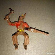 Figuras de Goma y PVC: 918- FIGURA( INDIO /COWBOY/SOLDADO) REAMSA /COMANSI (SIMILAR) AÑOS 50/60 REF 17/01. Lote 98432851