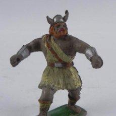 Figuras de Goma y PVC: FIGURA DE GOMA DE VIKINGO, ESTEREOPLAST, JIM, BUEN ESTADO.. Lote 98524491