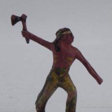 Figuras de Goma y PVC: FIGURA DE INDIO, REALIZADO EN GOMA POR CAPELL O REAMSA.. Lote 98538071