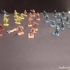 Figuras de Goma y PVC: LOTE DE + DE 30 SOLDADITOS FIGURITAS DE MONTAPLEX AÑOS 80...CAJ-1. Lote 98596371