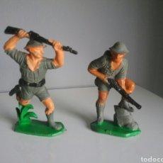 Figuras de Goma y PVC: SOLDADOS INGLESES - PUENTE SOBRE EL RÍO KWAI -COMANSI SOLDADO INGLÉS,. Lote 98632006