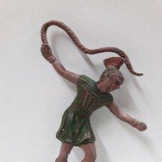 Figuras de Goma y PVC: MESSALA - PARA CUADRIGA . FIGURA REAMSA . AÑOS 50 EN GOMA. Lote 98708263