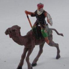 Figuras de Goma y PVC: ANTIGUA FIGURA DE ARABE CON CAMELLO, REAMSA, TAL Y COMO SE VE EN LAS FOTOGRAFIAS PUESTAS. CAMELLO DE. Lote 98762203