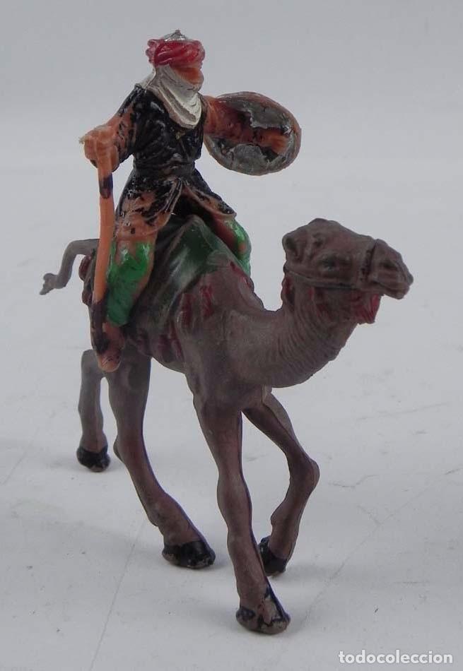 Figuras de Goma y PVC: ANTIGUA FIGURA DE ARABE CON CAMELLO, REAMSA, TAL Y COMO SE VE EN LAS FOTOGRAFIAS PUESTAS. CAMELLO DE - Foto 2 - 98762203