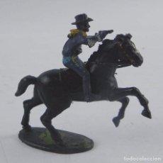 Figuras de Goma y PVC: FIGURA DE SOLDADO DEL 7º DE CABALLERIA DE LAS MARCA ASTER, AÑOS 50.. Lote 98829967