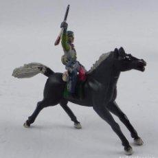 Figuras de Goma y PVC: VAQUERO A CABALLO DE SOTORRES, FABRICADO EN GOMA, SERIE SOMBRERO DESMONTABLE, AÑOS 50.. Lote 98830895