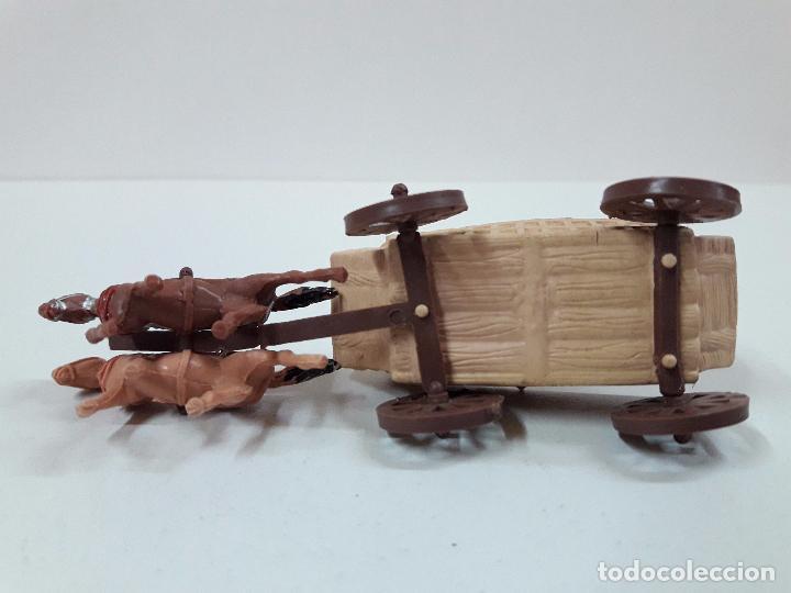 Figuras de Goma y PVC: FUERTE - FIGURAS Y COMPLEMENTOS . MINI OESTE . REALIZADOS POR COMANSI . AÑOS 60 - Foto 7 - 98932691