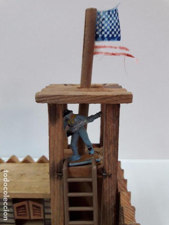 Figuras de Goma y PVC: FUERTE - FIGURAS Y COMPLEMENTOS . MINI OESTE . REALIZADOS POR COMANSI . AÑOS 60 - Foto 11 - 98932691