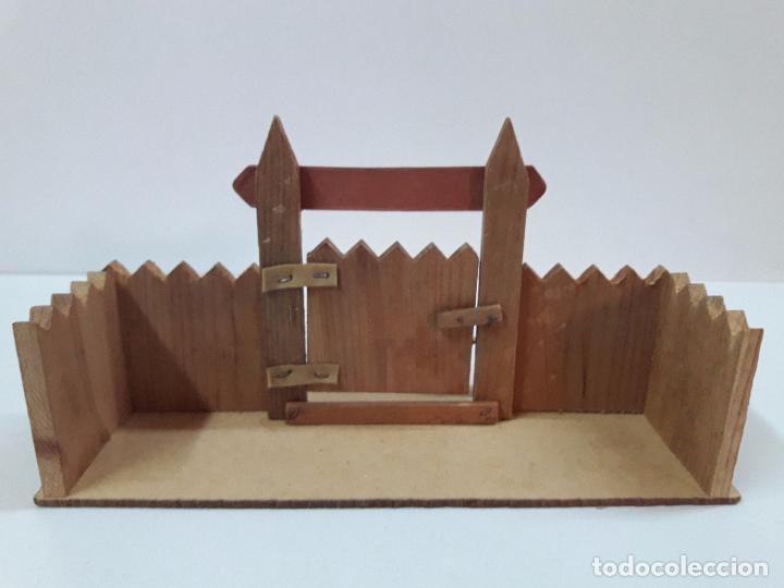 Figuras de Goma y PVC: FUERTE - FIGURAS Y COMPLEMENTOS . MINI OESTE . REALIZADOS POR COMANSI . AÑOS 60 - Foto 15 - 98932691