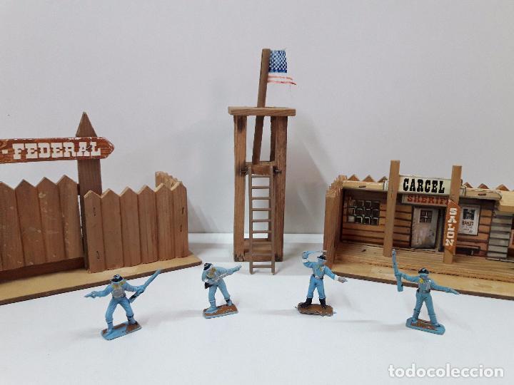 Figuras de Goma y PVC: FUERTE - FIGURAS Y COMPLEMENTOS . MINI OESTE . REALIZADOS POR COMANSI . AÑOS 60 - Foto 18 - 98932691