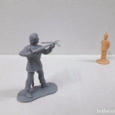 Figuras de Goma y PVC: DOS FIGURAS REAMSA Nº 316 / Nº 317 . SERIE GUILLERMO TELL . MONOCOLOR. Lote 99083423